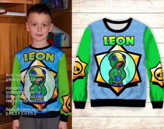 Світшот Leon