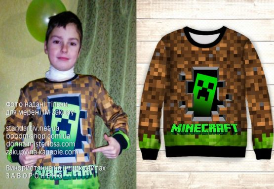 Світшот Minecraft