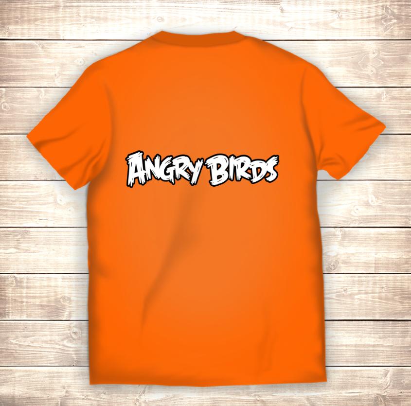 Футболка 3D Angry birds Команда