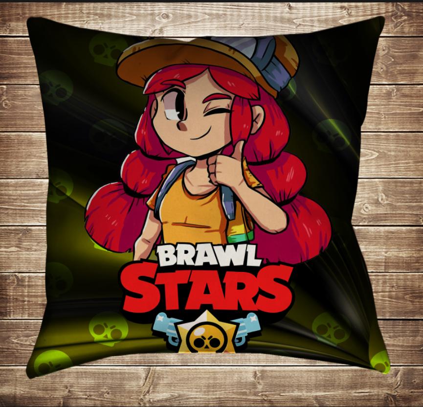 Подушка 3D - Бравл Старс Джессі Brawl Stars
