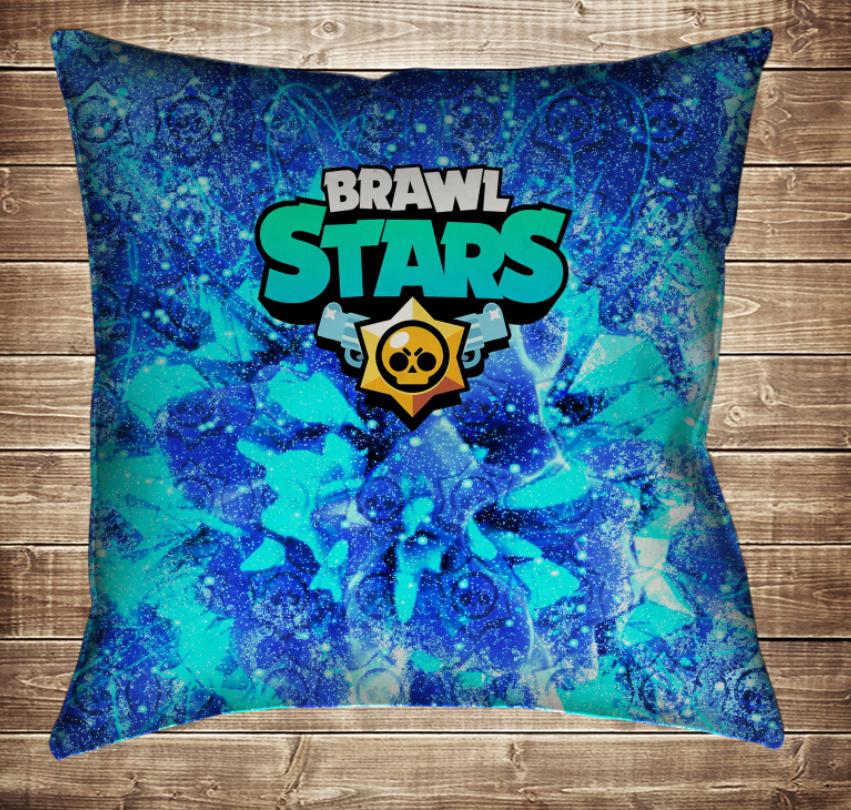 Подушка 3D - Бравл Старс Brawl Stars
