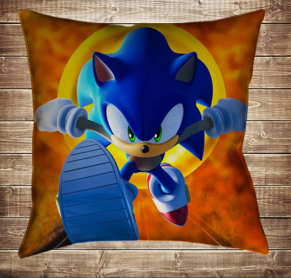 Подушка 3D - Сонік Вогняний