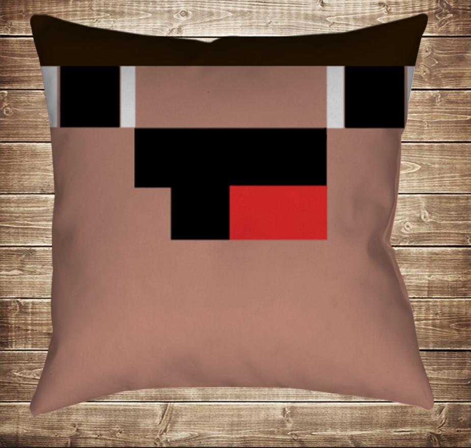 Подушка Minecraft Нубік