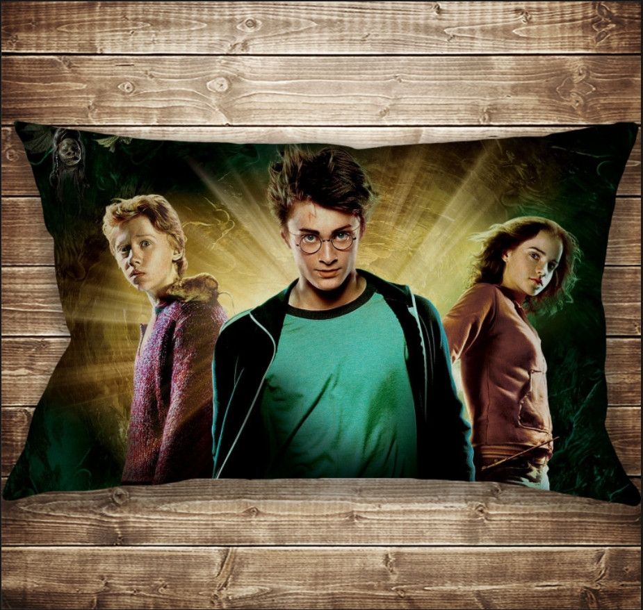 Подушка-картина с принтом на тему Гарри Поттер