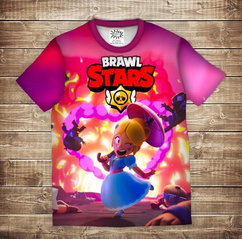 Футболка с 3D принтом: Взрывная Пайпер Бравл Старс. Piper Brawl Stars. Детские и взрослые размеры